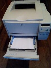 Лазерный принтер,  заправлен!